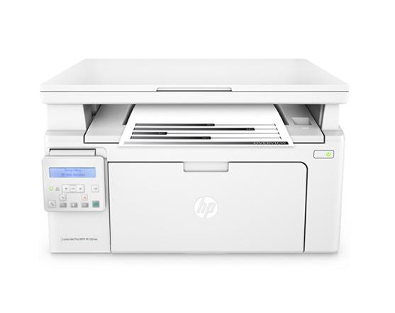 M132nw黑白激光三合一复印机
